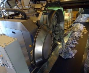 Vaskemaskinen deler opp i riktig antall kilo