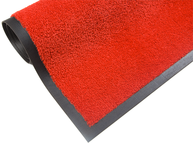 Rød løper-gulvmatte-foto