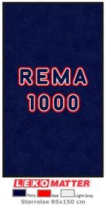 Logomatte Rema 1000-foto