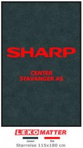 Logomatte Sharp-foto