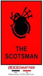 Scotsman logomatte-foto