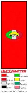 Rød løper med logo-foto
