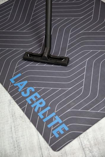 Stolunderlag med logo -foto