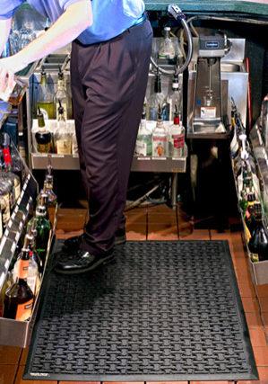 kjøkken avlastningsmatte-foto